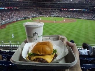 Shake Shack at Nationals Park. Don't mind if I do!