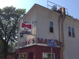 Matt's, home of the Jucy Lucy.