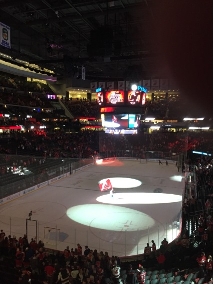 Nothing says Halloween like a Devils game.