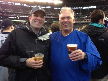 Another Opening Day with my friend Neil. We've been to 13 Opening Days together.