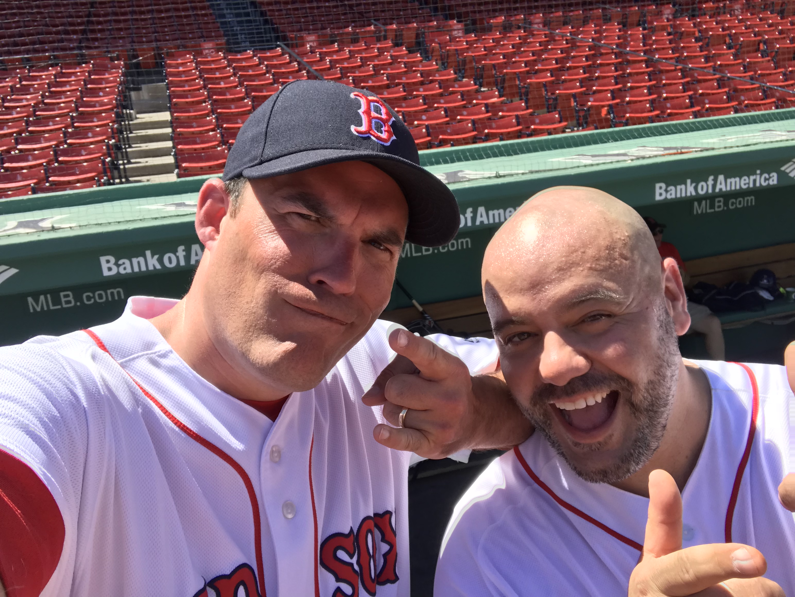 Playing At Fenway Park And Sharing A Catch At Dodger Stadium